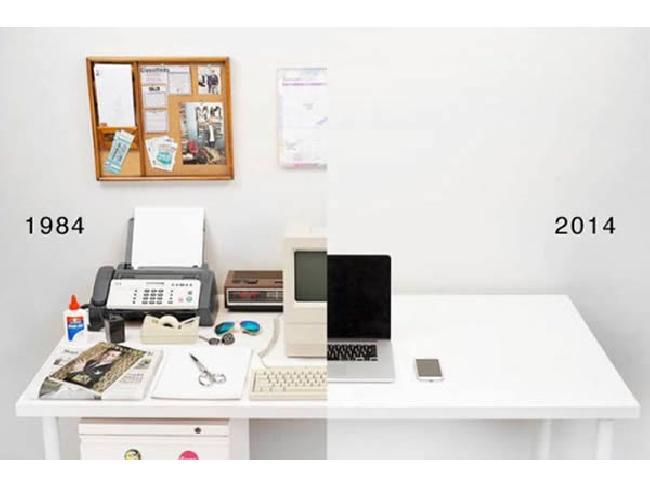 รู้หรือไม่..? โต๊ะทำงานเมื่อ 30 ปีที่แล้วในอดีตเป็นอย่างไร