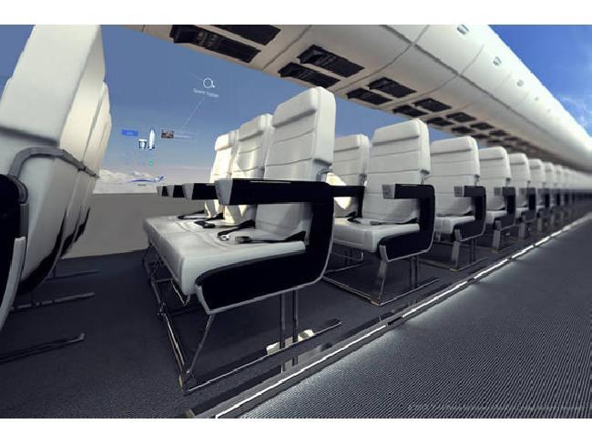 น่าตื่นเต้น!! อีก 10 ปี เครื่องบินโดยสารจะไม่มีหน้าต่างอีกแล้ว และสามารถเห็นวิวรอบตัวเครื่องได้ 360 องศา