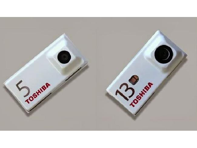 """เผยโฉมแล้ว! กล้องแยกชิ้นส่วนได้ตัวแรกจาก Toshiba สำหรับสมาร์ทโฟนประกอบเองได้ใน """"Project Ara"""""""