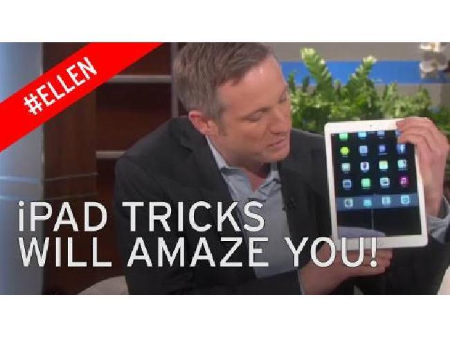 (คลิปวิดีโอ) เมื่อนักมายากลจับ iPad ความมหัศจรรย์ก็เกิดขึ้น!