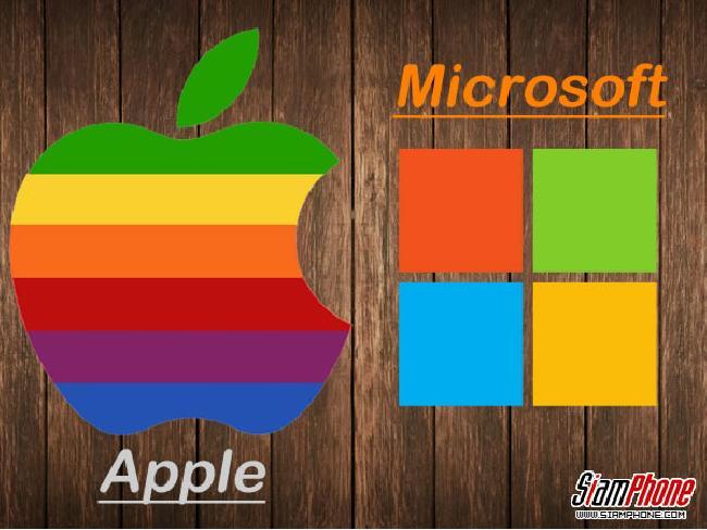 บนเส้นทางที่แตกต่าง? แต่ความสำเร็จในอนาคตยังคงต้องเดินหน้าสร้างต่อระหว่าง Apple และ Microsoft