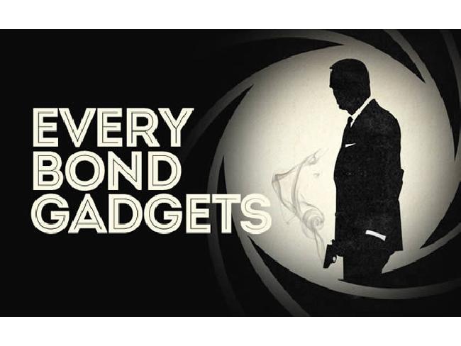 (คลิปวิดีโอ) รวม gadget 193 ชิ้นที่พระเอกสายลับเจมส์ บอนด์ 007 เคยใช้ !!
