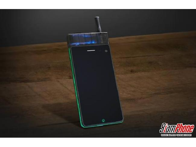 Jupiter IO 3 สมาร์ทโฟนรุ่นแรกของโลกที่มีบุหรี่ไฟฟ้า (E-Cigarette) ในตัว