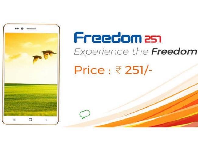 [ที่สุดในโลก] Ringing Bells Freedom 251 สมาร์ทโฟนแอนดรอยด์จากอินเดียราคาเพียง 130 บาท !!