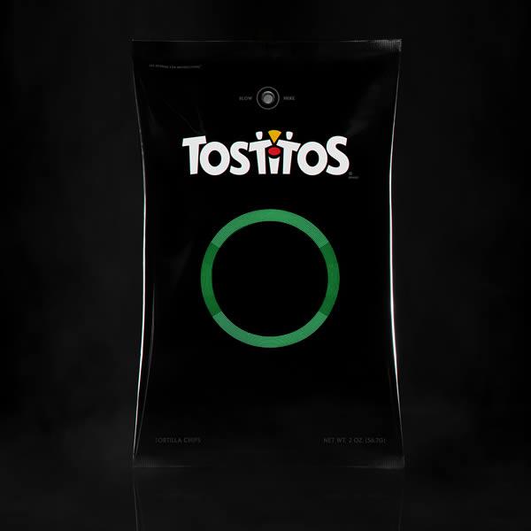 Tostitos เปิดตัวถุงขนมรุ่นใหม่แจ้งเตือนผู้ขับขี่ 'ดื่มไม่ขับ'