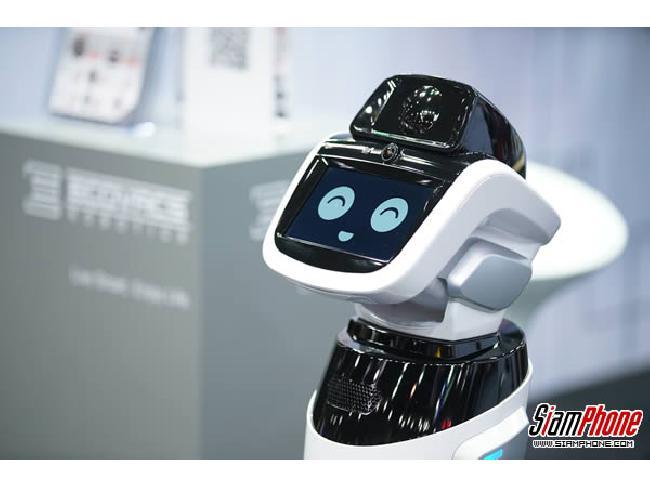 Ecovacs Robotics หุ่นยนต์ไฮเทค เทคโนโลยีสุดล้ำ จัดแสดงในงานมอเตอร์ โชว์ 2017