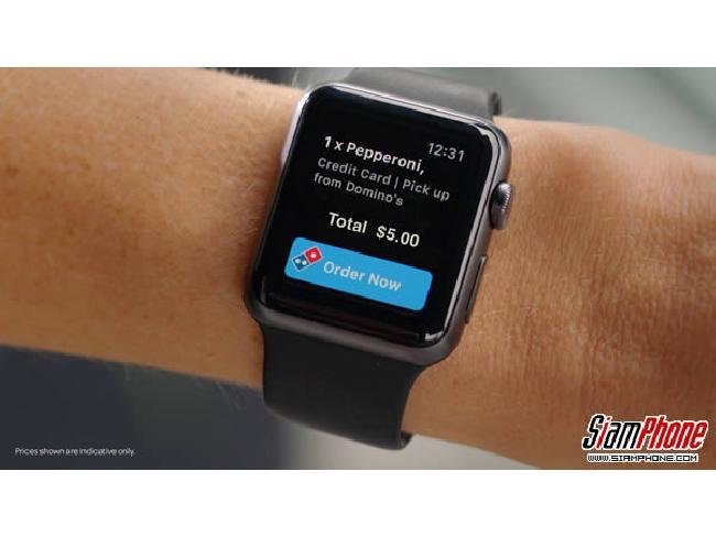 โลกมันเปลี่ยนเร็ว! ประเทศแคนาดาสามารถสั่ง Domino's Pizza ผ่าน Apple Watch ได้แล้ว
