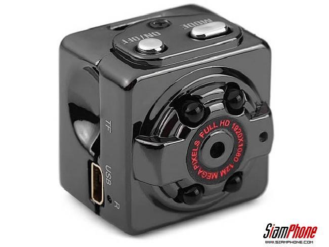 SQ8 กล้อง DV Camera ขนาดจิ๋วแต่สามารถบันทึกวิดีโอได้แบบ Full HD 1080p