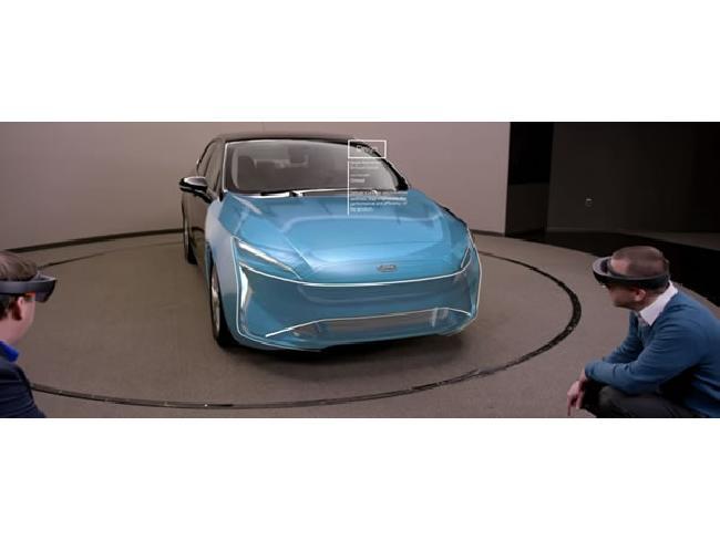 Ford เตรียมนำ HoloLens ของ Microsoft มาใช้ในการดีไซน์รถยนต์ผ่าน AR