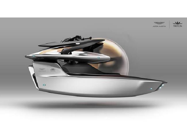 Aston Martin เล็งสร้างเรือดำน้ำหรูหราภายใต้โครงการ Project Neptune
