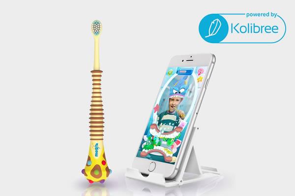 Kolibree Magik Toothbrush แปรงสีฟันสำหรับเด็กพร้อมเทคโนโลยีความเป็นจริงเสมือน (AR)
