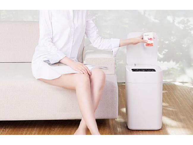 Xiaomi เผยโฉม smart Trash ถังขยะอัจฉริยะ ฝาเปิดปิดเอง พร้อมซีลถุงขยะให้อัตโนมัติ