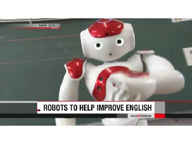 ญี่ปุ่นนำหุ่นยนต์ AI มาช่วยสอนภาษาอังกฤษในโรงเรียน