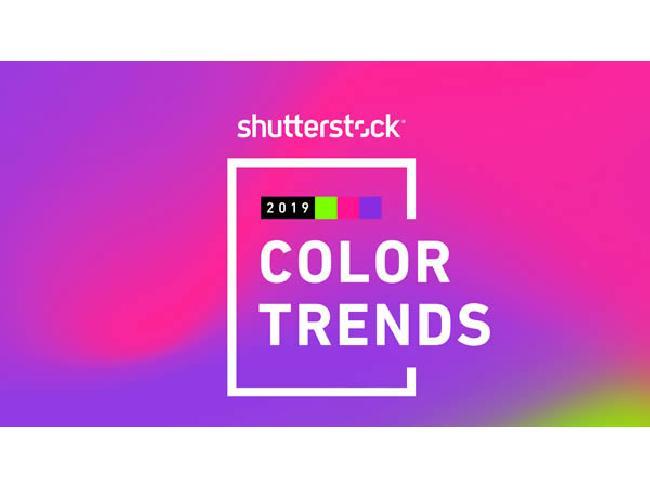 2019 Color Trends: โทนสียอดนิยมประจำปี ค.ศ. 2019 โดย Shutterstock