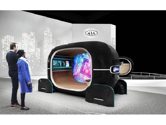 KIA พัฒนาซอฟต์แวร์ AI ปรับเปลี่ยนเฉดสีห้องโดยสารภายในรถยนต์ตามอารมณ์ของผู้ขับขี่