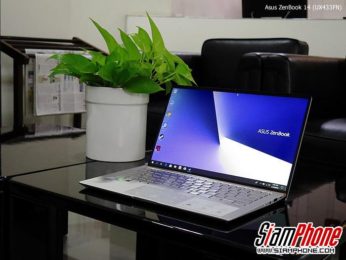 รีวิว Asus ZenBook 14 (UX433FN) แล็ปท็อปชิปเซ็ต Inte...
