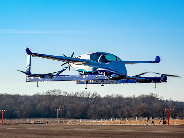 เครื่องบินโดยสารไร้คนขับ (autonomous flying taxi) ของโบอิ้งประสบความสำเร็จในการบินทดสอบเที่ยวแรก