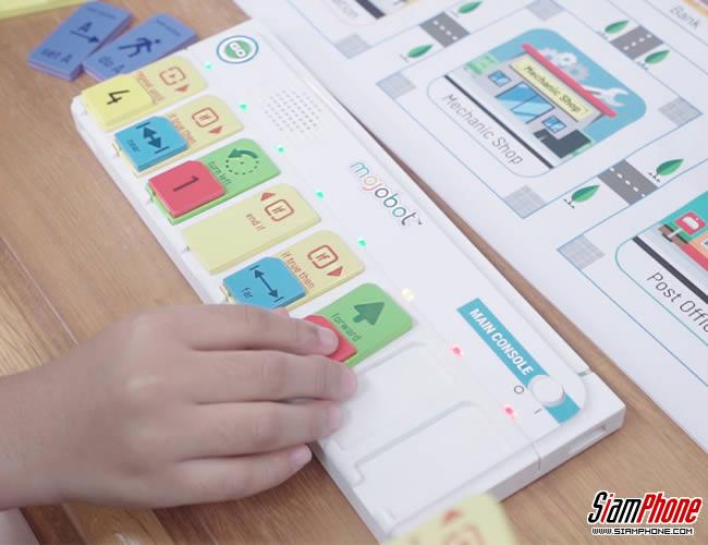 mojobot บอร์ดเกมเพื่อการเรียนรู้การเขียนโปรแกรมคอมพิวเตอร์ พัฒนาโดยคนไทย