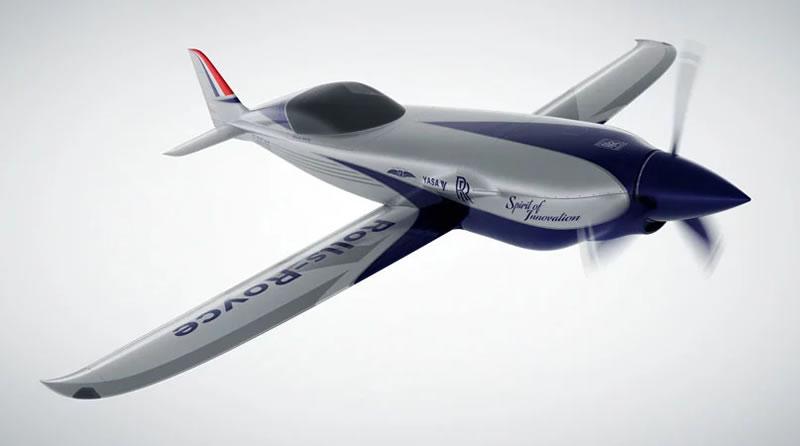 Rolls Royce เปิดตัวเครื่องบินส่วนตัวไฟฟ้าที่นั่งเดียว ทำความเร็วมากที่สุดในโลก