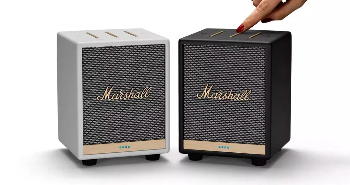 MiNi marshall ลำโพงตัวจิ๋ว แต่พลังเสียงใหญ่มาก รองรับการใช้คำสั่งเสียง