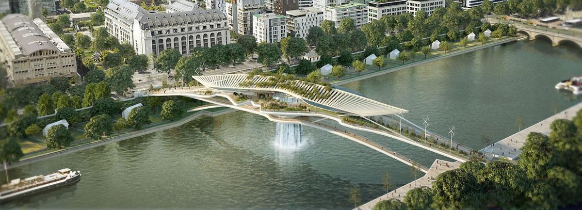 [Lifestyle] ชมคอนเซ็ปต์ใหม่ สะพานลอยสู่สรวงสวรรค์ babylon bridge ในปารีส