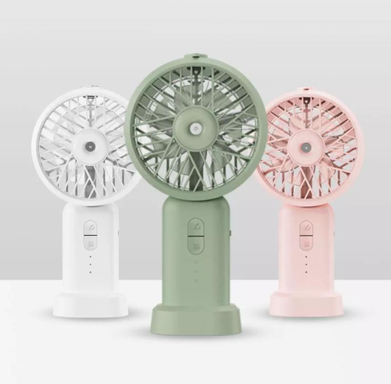 ร้อนก็ไม่กลัว! Xiaomi DOCO Ultrasonic Dry Misting Fan พัดลมพกพา มีละอองน้ำ ราคา 310 บาท