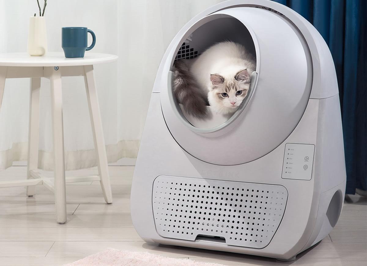 Xiaomi CAT LINK Automatic Litter Box Lite ห้องน้ำแมวอัจฉริยะ ที่ทาสแมวต้องมี!