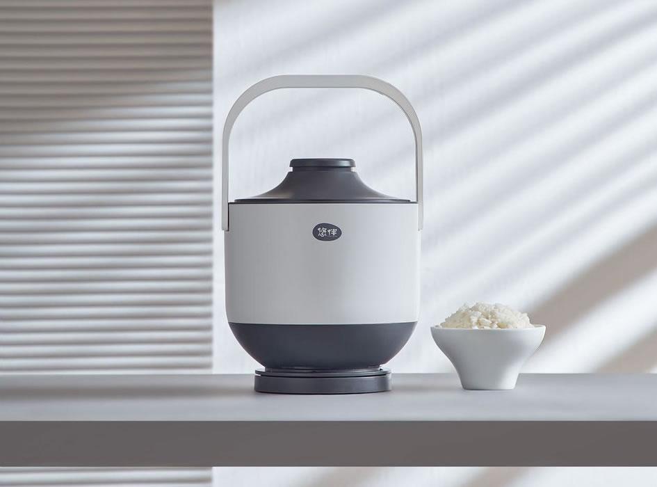 Xiaomi Rice cooker 6IN1 หม้อหุงข้าวสไตล์จีนเก่าแบบมินิมอล