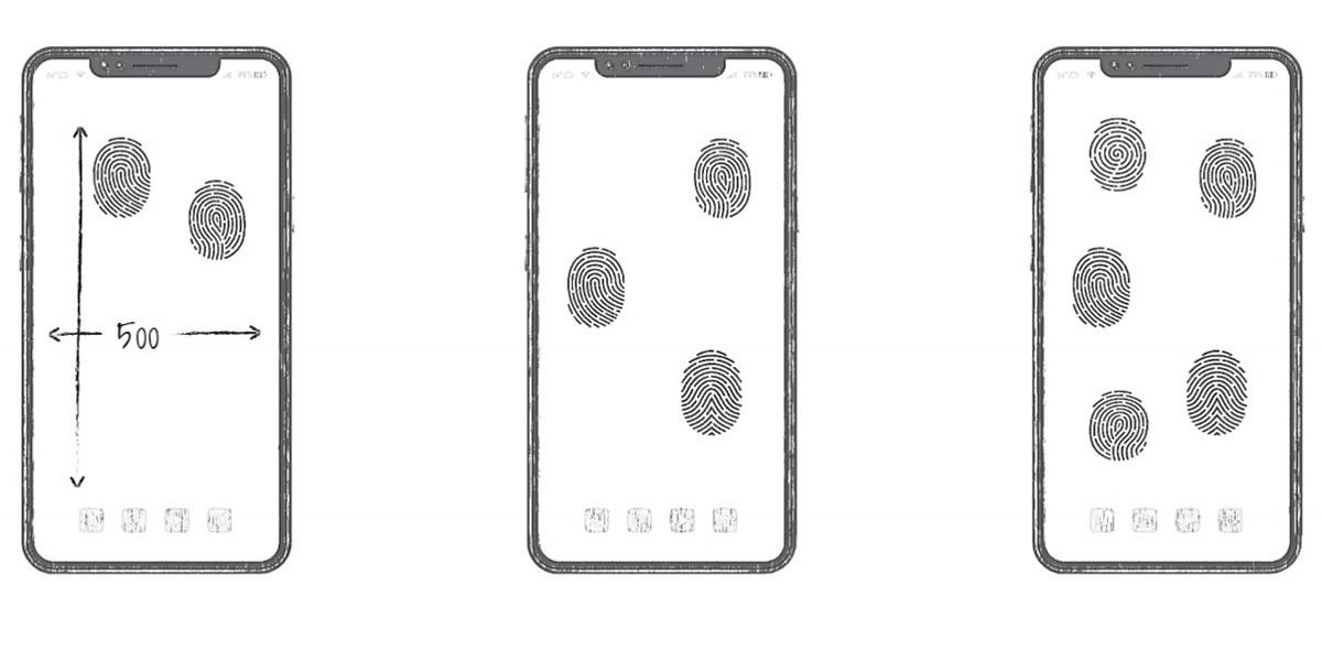 Huawei เผยแนวคิดสแกนลายนิ้วมือบนหน้าจอได้ทุกจุดตามต้องการ