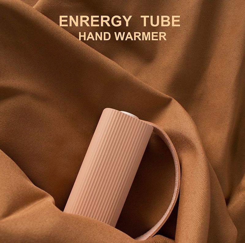 เที่ยวไม่กลัวมือหนาว ENERGY TUBE แกดเจ็ตให้ความอบอุ่น และเป็นแบตฯ สำรองในตัว