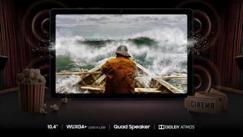 ทำความรู้จัก Samsung Galaxy Tab A7 หน้าจอ 10.4 นิ้ว พลังเสียง Dolby ATMOS แบตฯ 7040mAh