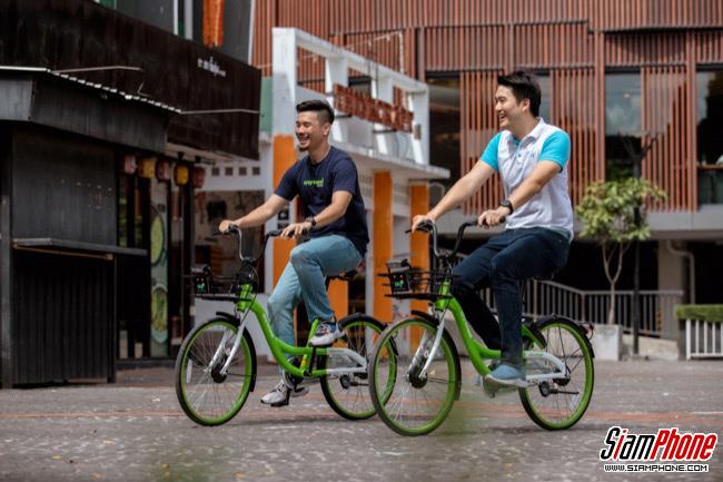 Anywheel จักรยานสาธารณะช่วยลดมลพิษ ผ่านโครงข่ายIoTจากdtac Business