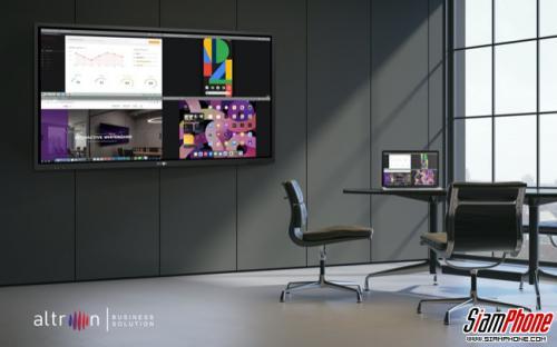 Altron SmartShareกระดานดำอัจฉริยะ เชื่อมต่ออสดงผลได้หลายอุปกรณ์