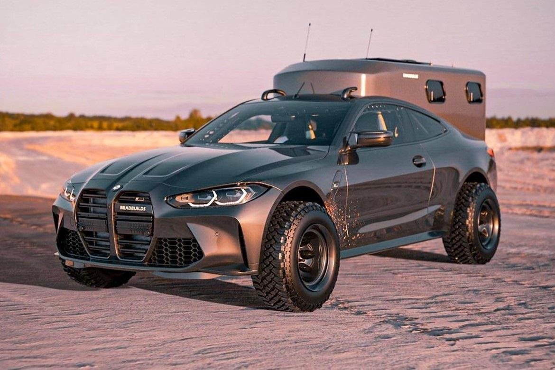 เผยภาพคอนเซ็ปต์รถยนต์ BMW M4 coupe สไตล์ Off-Rad เน้นสายแคมป์ปิ่ง