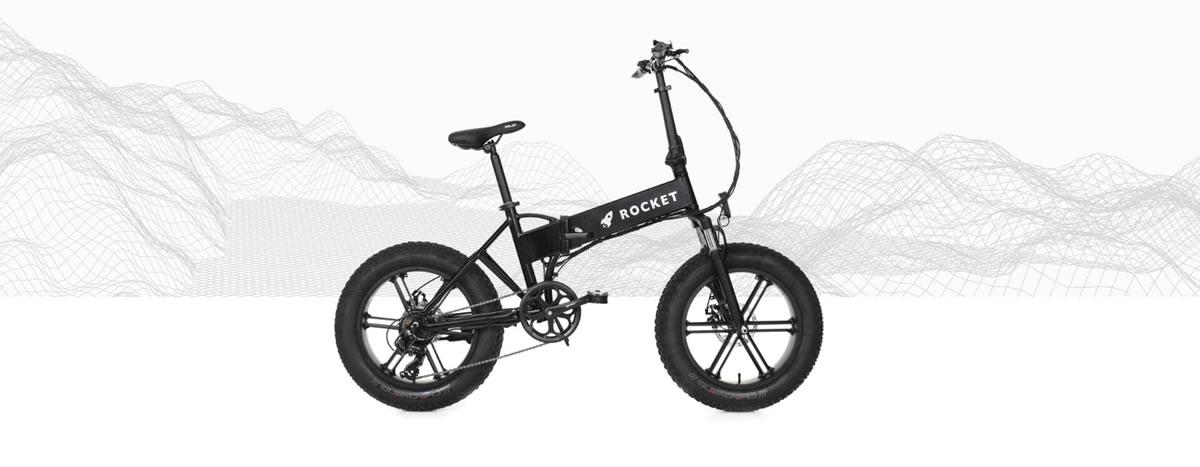 Rocket eBike จักรยานชาร์จแบตเตอรี่เองอัตโนมัติ ปั่นไฟฟ้าได้ไกล 160 กิโลเมตร