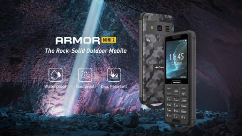 Ulefone Armor Mini 2 ฟีเจอร์โฟนพันธุ์อึด พร้อมลุยได้ทุกสถานการณ์