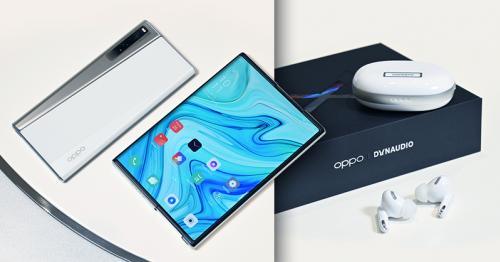 OPPO X 2021 Rollable Concept Handset คอนเซ็ปต์โฟนหน้าจอยืดขยายไร้รอยพับ