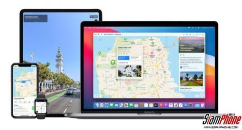 Apple Maps เปิดให้ข้อมูลคำแนะนำการเดินทางในสนามบิน