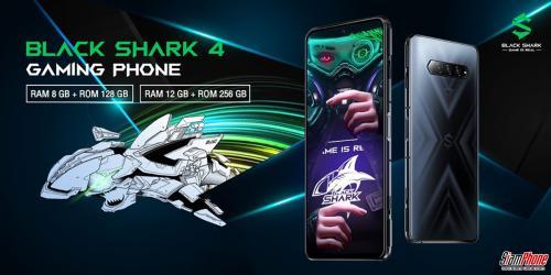 Black Shark 4 ฉลามเกมมิ่งมีขายแล้วในไทย ราคาเริ่มต้นช่วงพรีออเดอร์ 15,990 บาท!