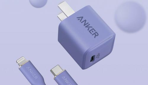 Anker PowerPort III Nano 20W อะแดปเตอร์ PD3.0 เพิ่มตัวเลือกสีม่วง ลงตัวกับ iPhone 12 และ iPhone 1...