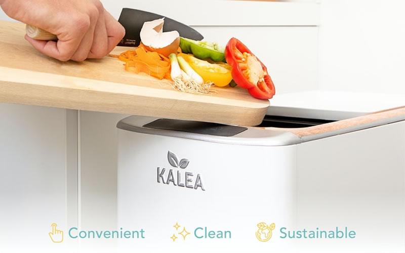 KALEA: อุปกรณ์สมัยใหม่ เปลี่ยนเศษอาหารครัวเรือนเป็นปุ๋ยได้ใน 48 ชั่วโมง