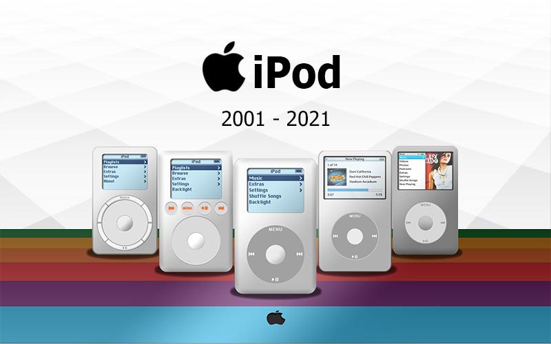 [iPod History] ย้อนรอย 20 ปี Apple iPod วิวัฒนาการจากอดีตสู่ปัจจุบัน