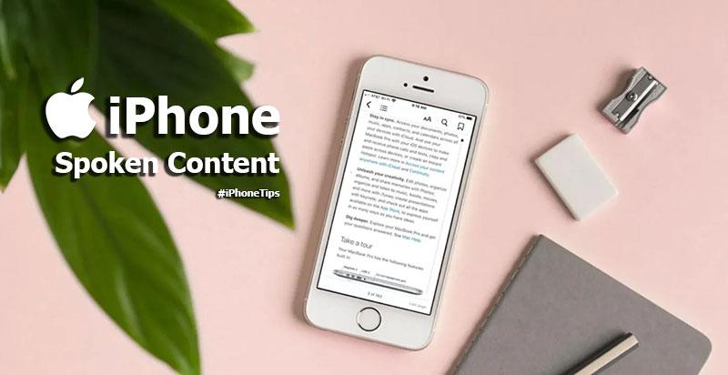 Spoken Content อ่านชัด ฟังง่าย เลือกตรงไหนอ่านให้หมด