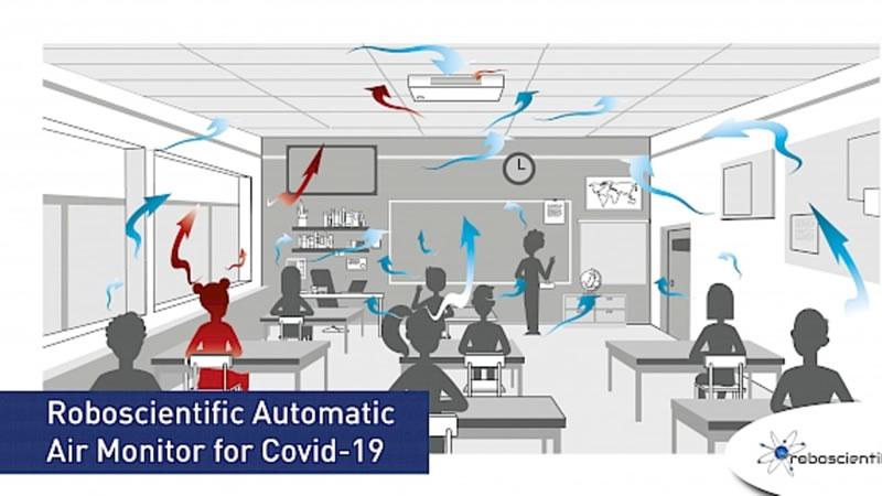 เครื่องตรวจจับ COVID-19 ด้วยอากาศ ความแม่นยำจากการทดสอบตรวจจับได้ 100%