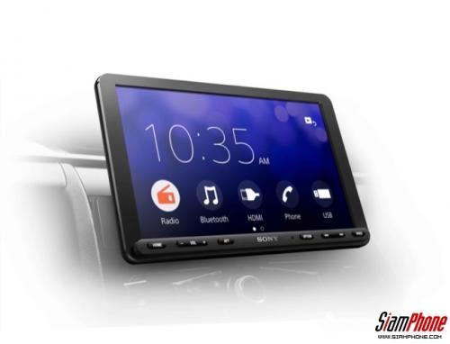 Sony XAV-AX8100 เครื่องเสียงติดรถยนต์ พร้อมมีเดียรีซีฟเวอร์รุ่นล่าสุด