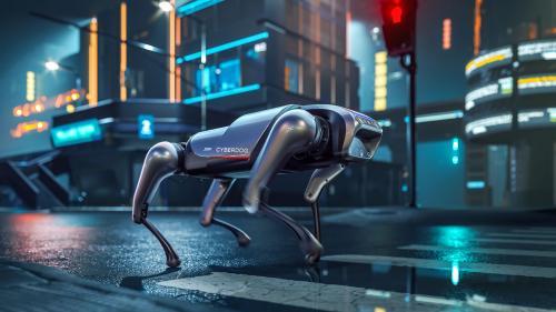 Xiaomi CyberDog หุ่นยนต์สุนัขเฝ้าบ้าน โจรกลัวแน่นอน วิเคราะห์สถานการณ์แบบเรียลไทม์