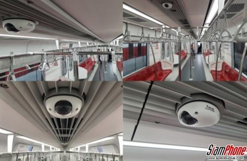 VIVOTEK กล้องวงจรปิดอัจฉริยะ สำหรับรถไฟฟ้า MRT สายใหม่ของไทย