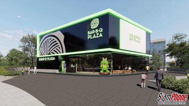 เปิดตัว Bar B Q Plaza Virtual Restaurant บน V-AVENUE powered by AIS 5G