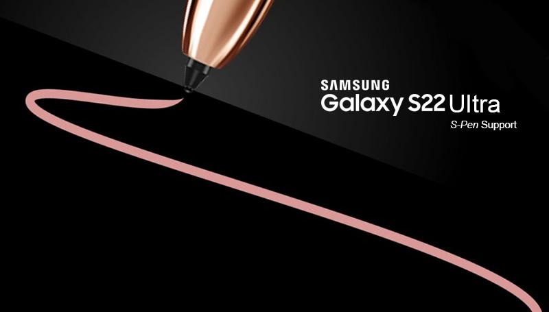 ลือ Samsung Galaxy S22 Ultra ปรับขนาดหน้าจอใหม่พร้อมรองรับปากกาและมีช่องเก็บในตัว