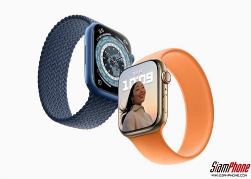 Apple Watch Series 7 พร้อมให้สั่งซื้อได้ ในวันศุกร์ที่ 8 ตุลาคมนี้